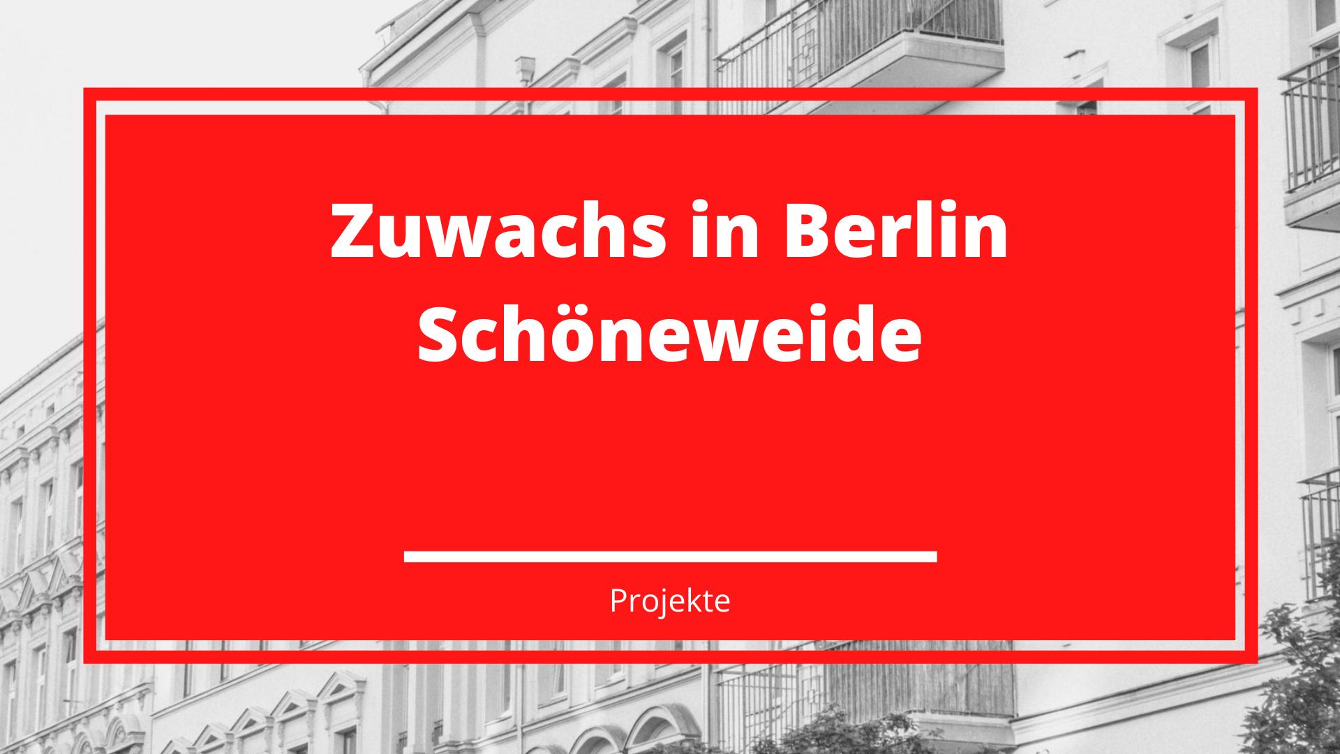Zuwachs in Berlin Schöneweide