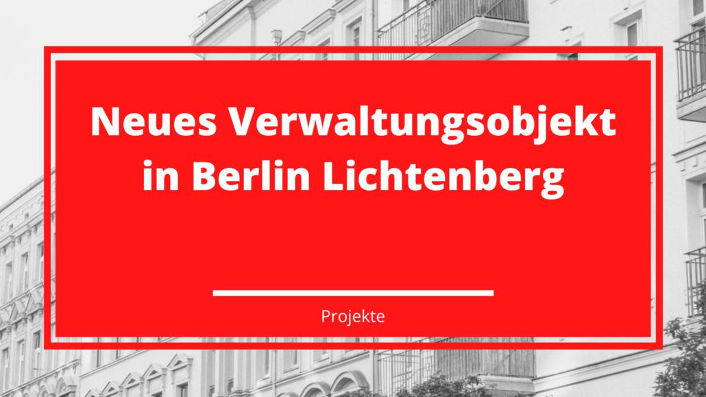 Neues Verwaltungsobjekt in Berlin Lichtenberg